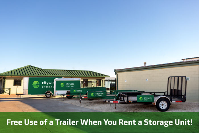 Trailer And U Haul Truck Rental In Salina Ks Citywide Storage